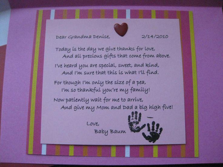 The 25 best Pregnancy announcement poems ideas – Baby Announcement Poem