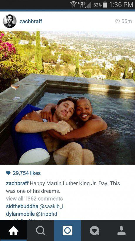 Happy Martin Luther King day from JD and Turk! SO cute :}