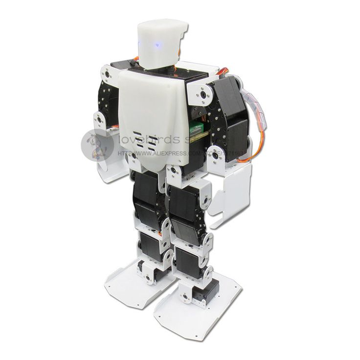 TR-X 5.0 17DOF Wireless remote control Humanoid dance robot with LED eyes Support MP3 player & WIFI expand