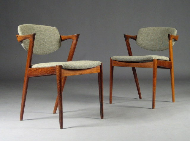 Kai Christiansen chairs - so very comfortable.