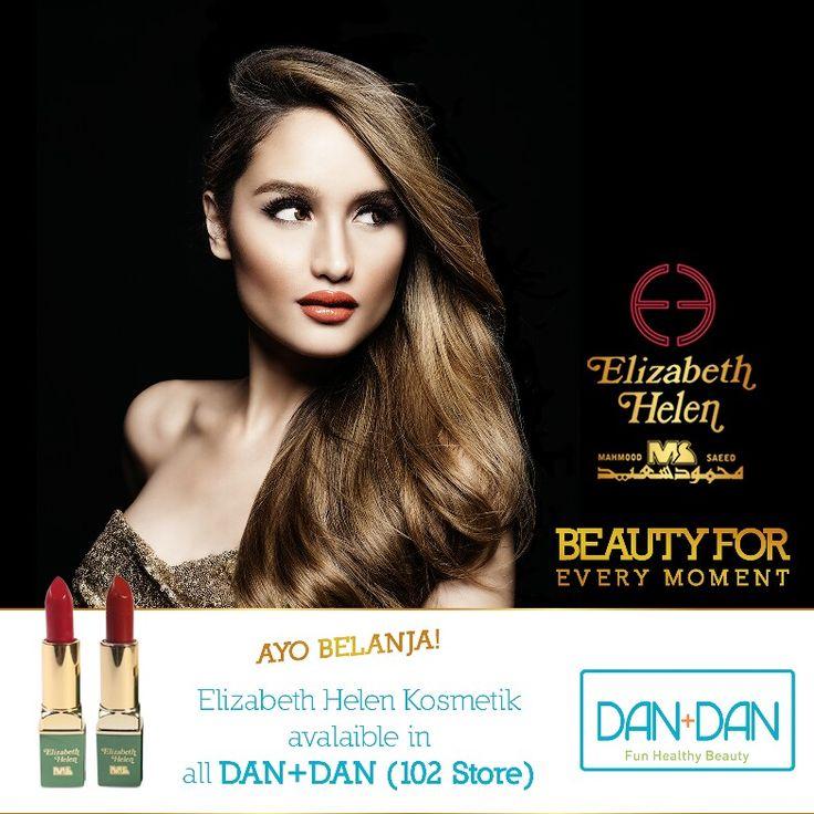 Yuk borong produk-produk Elizabeth Helen di outlet DAN+DAN yang terdekat di kotamu ladies. Kamu bisa lihat langsung dan beli warna lipstik dan produk lainnya yang sesuai dengan dirimu disana 