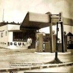 Na Račianskej ulici najbližšie k priecestiu  oproti neskoršiemu VÚZ bola benzínka, ktorej torzo slúži stále, ale inému účelu. Dnes tam sídlia Zberné suroviny. História benzínky neďaleko priecestia siaha do medzivojnového obdobia. Dali ju postaviť bratia Zigmundovci
