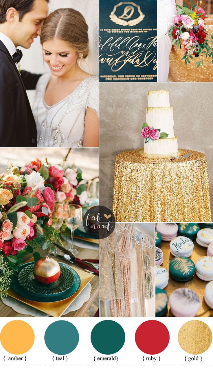 Luxurious Jewel Toned Wedding For Fall and Winter Wedding  |  fabmood.com #jeweltonedwedding