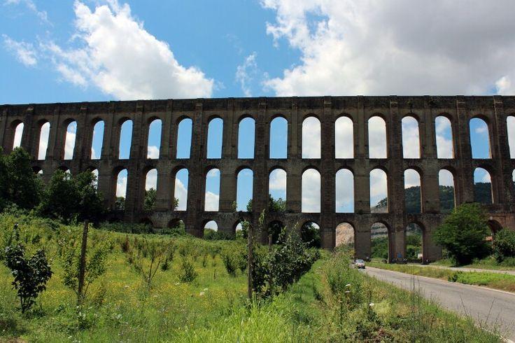 S'leucio Caserta acquedotto Carolino struttura romana