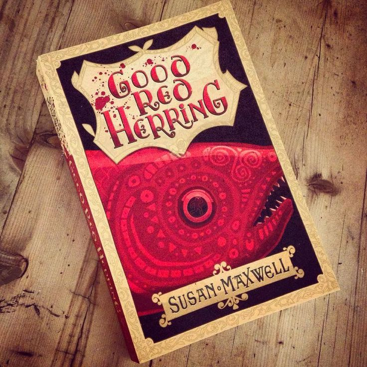 Good Red Herring in Steve Simpson's studio!