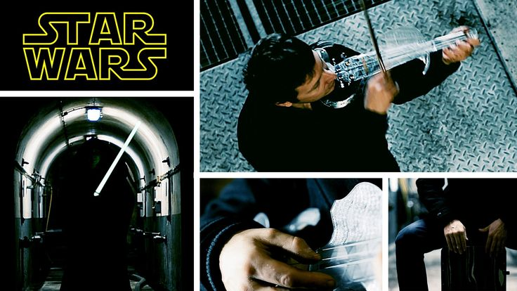 The Star Wars Violin Cover by Laurent Bernadac : the Star Wars main theme and the Imperial March (Vador's theme).