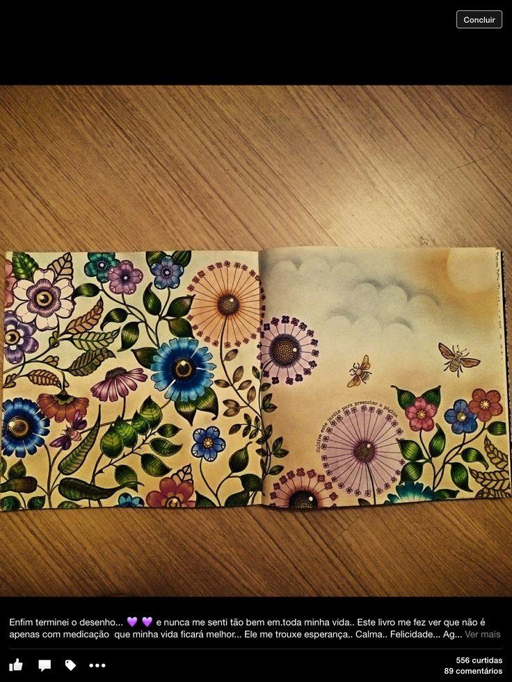 Jardim Secreto ColouringColoring BooksGardenIdeasArtJohanna