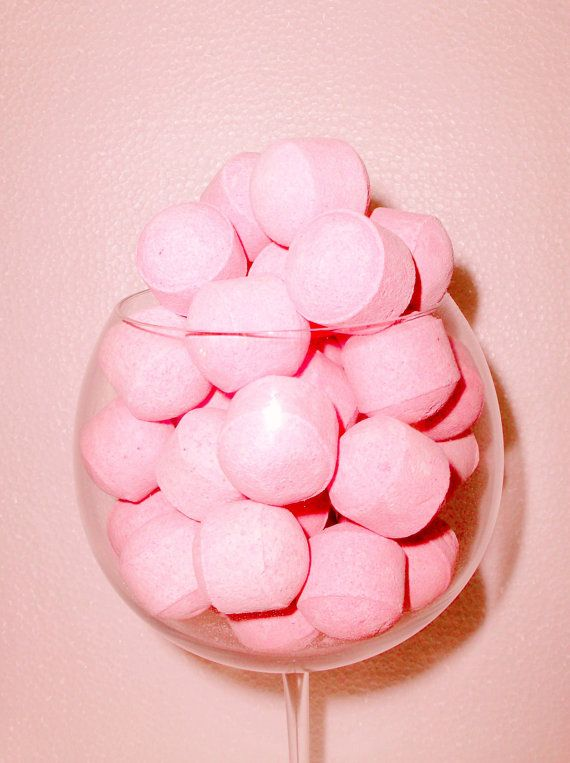 102050 Pink Rose Midi Bath Bombs Bathing Foot by MangoMoonNaturals