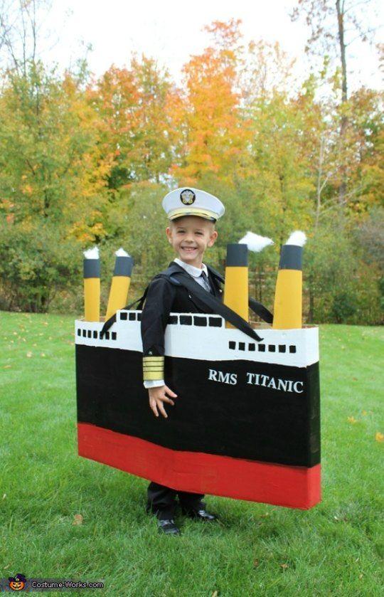Disfraz infantil capitán de barco
