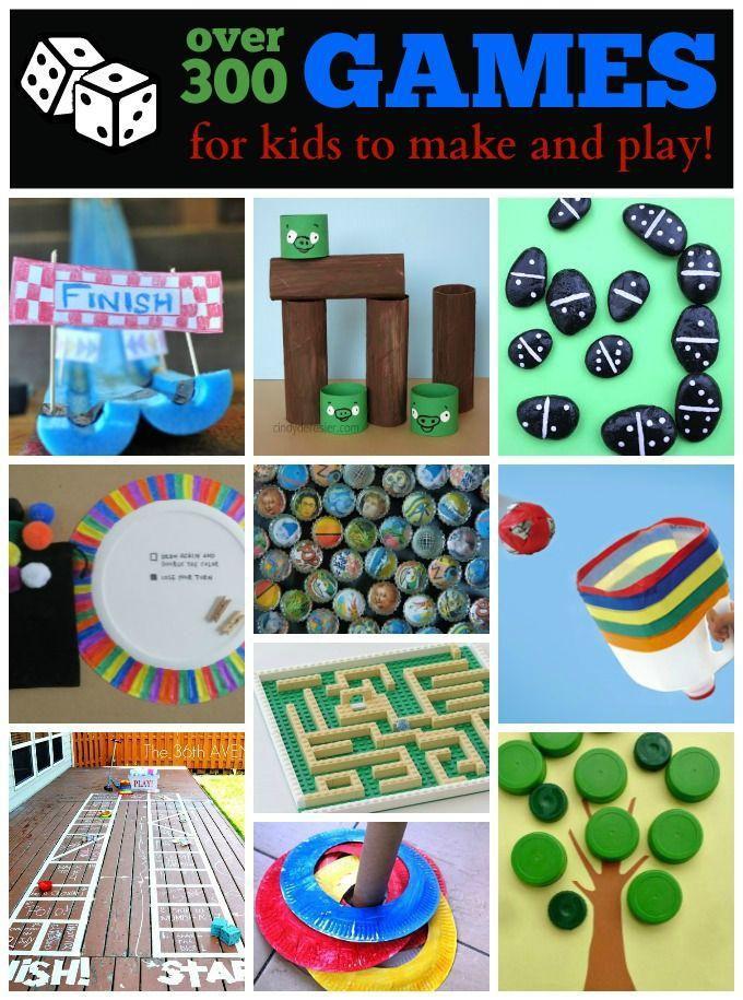 Homemade Games Ideas for Kids Homemade carnival games