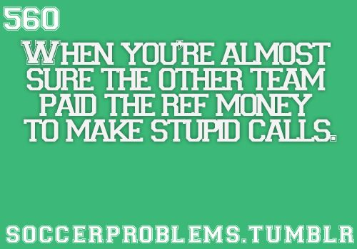 Yes thank you someone for realizing this too!!!!!!! And this is soo NOT  just a soccer prob!!