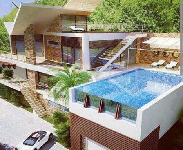 46 best images about my dream house mansions for Nice houses with pools