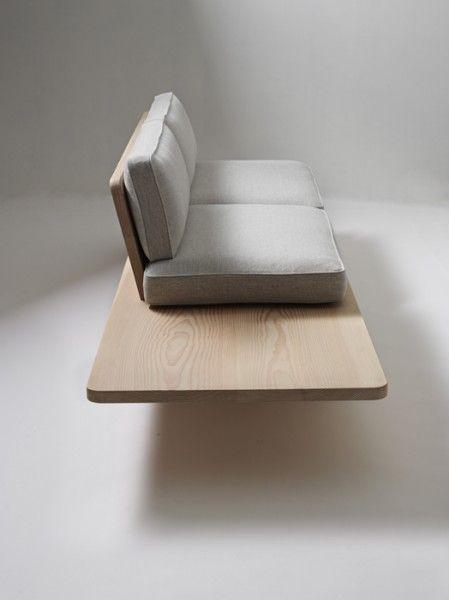 houten bank (Sofa 'Plank')