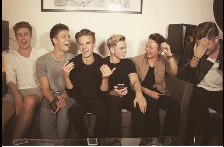 Josh , Caspar , Joe , Jack , Conor and Mikey