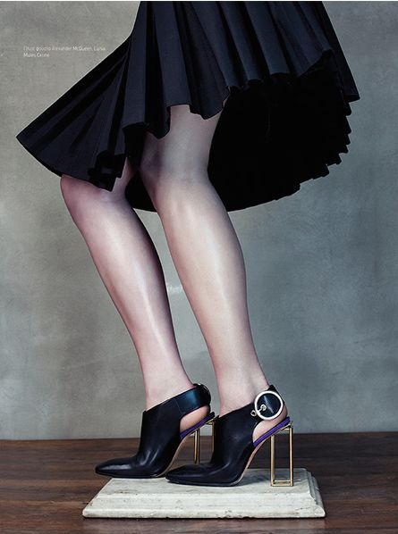L'Officiel Hellas, Celine shoes, Image by Michal Kar, style by Paku Sukuda