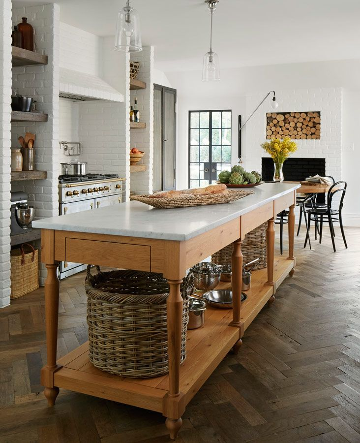 Customize a kitchen island to suit your personal style for Kitchen ideas no island
