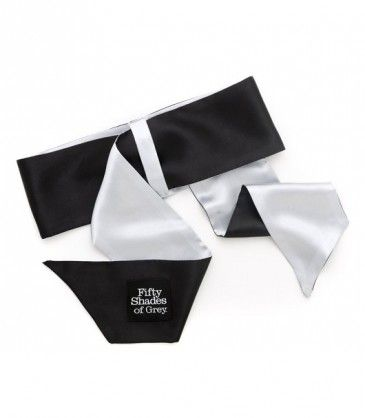 Satin Restraint Wrist Tie Soft Limits - Fifty Shades of Grey. Be creative with new bondage ideas using this durable satin soft deluxe wrist tie. R345.00