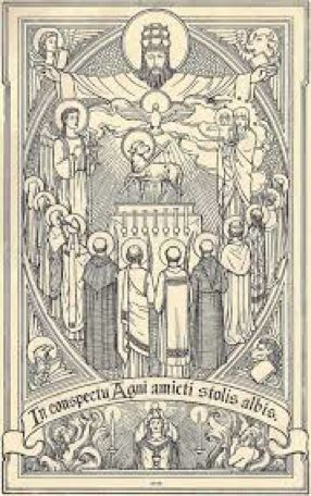 On the Feast of All Saints and its origins in antiquity …  http://corjesusacratissimum.org/2015/11/feast-of-all-saints/