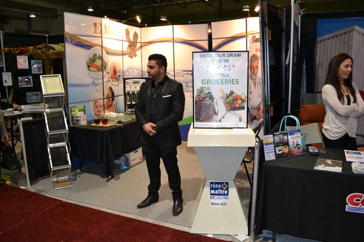 At the home shows attended by Eagle Industries Corp. our staff are always on hand and ready to answer any of your questions.
