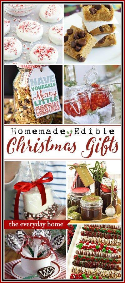 Homemade Edible Christmas Gifts | The Everyday Home | www.everydayhomeblog.com