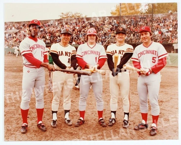 1978 CINCINNATI REDS in JAPAN! PETE ROSE JOHNNY BENCH