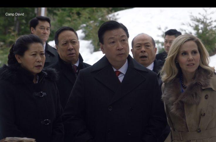 Tzi Ma, Raymond Ma, Sally Phillips, Lee Chen, Tony Lam  as  Lu Chi-Jang, Zhang Shengxi, Minna Häkkinen, Female Translator on veep