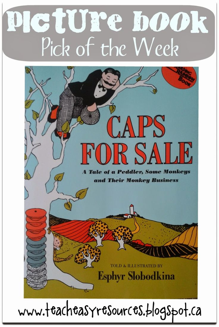 Caps for Sale - Great Picture Book with Activity Ideas