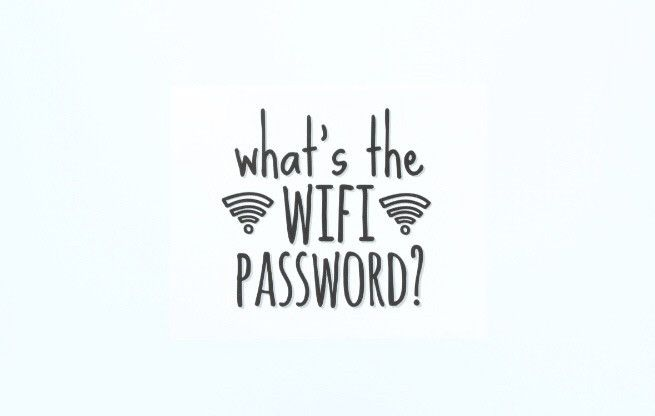 What's the WIFI Password?