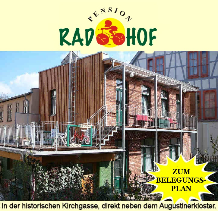 Pension Rad-Hof  in Erfurt, Germany was one of my favorite places. I was in the Alcatraz room, which had a very cheerful vibe given that it was all about the prison.