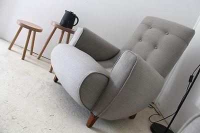 Reupholstered Sleepy Hollow Chair