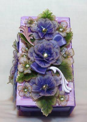 violet wrap