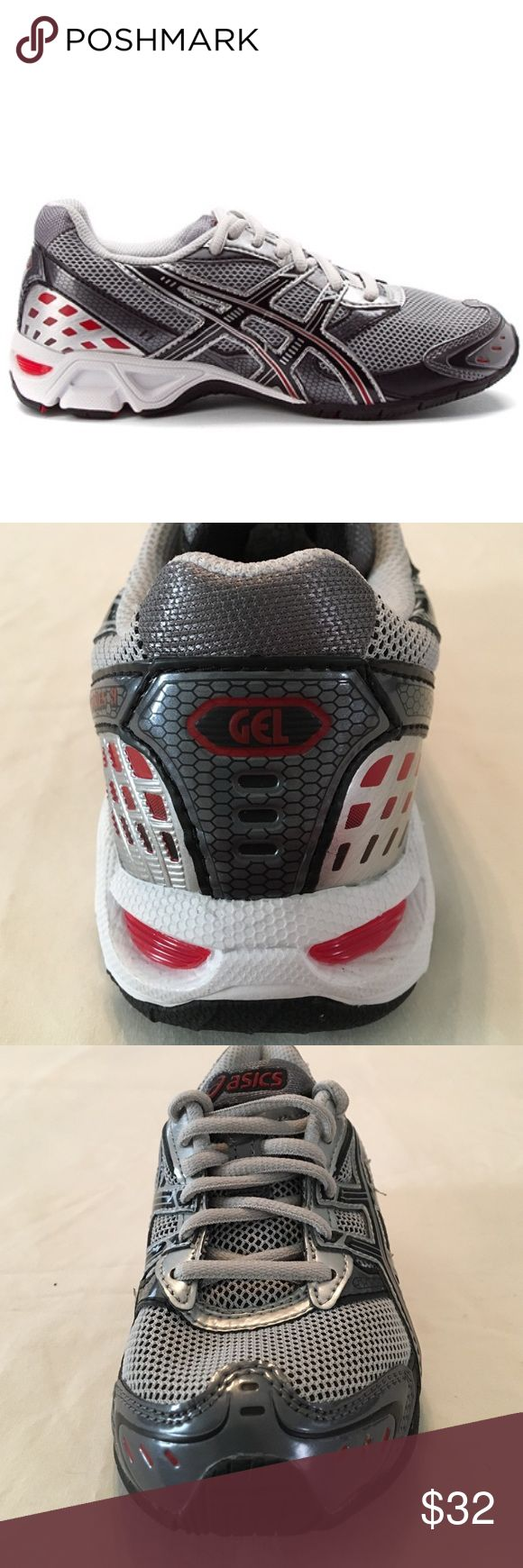 Asics GEL-Anteres Girls Athletic Shoe Size 1 Asics GEL-Anteres Girls Sporty Athletic Shoe, Size 1, air mesh upper with reinforced stitched toe, lightly worn, good condition Asics Shoes Sneakers