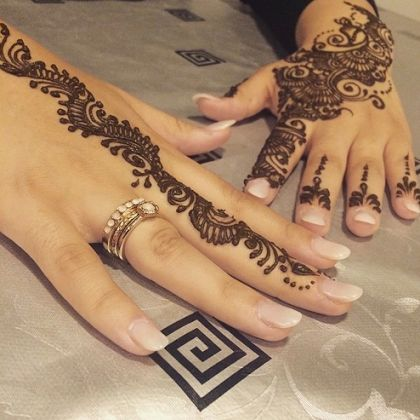 Pretty Mehndi Design