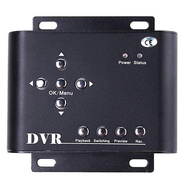 2CH Car Security Mini DVR SD Video/Audio CCTV Recorder