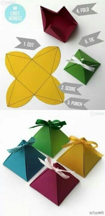 Diy gift packaging idea