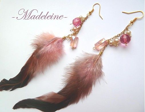 -Madeleine- / glamour feathers