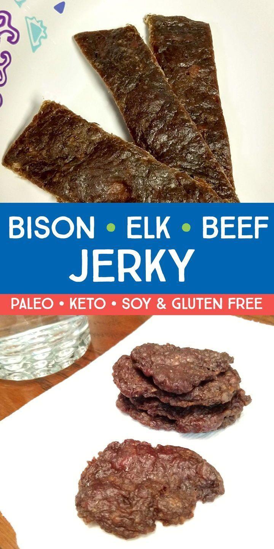 Easy Homemade Jerky Recipe Elk Recipes Jerky Recipes Elk Meat Recipes