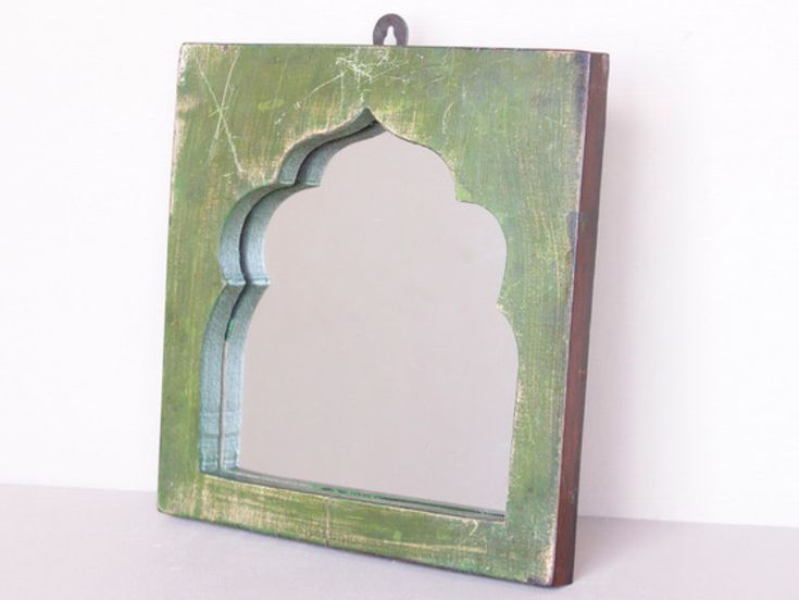 The exotic profile of these hanging wall mirrors make for an attractive visual feature in any retro or contemporary home. #mirror #vintagemirror #homedecor #homestyle