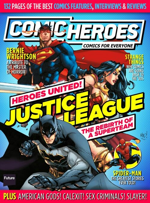Get Comic Heroes Magazine by subscribing to My Favourite Magazines: