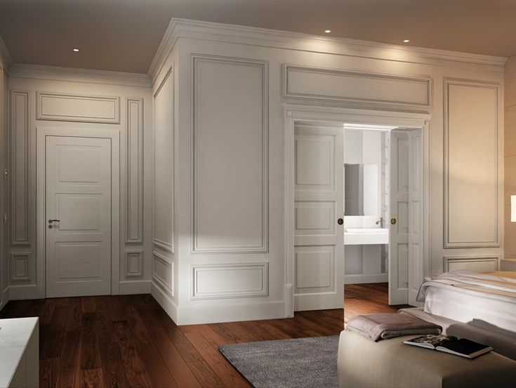 Boiserie in legno in stile classico by GAROFOLI