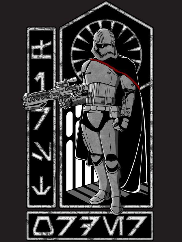 The Captain. #stormtrooper #phasma #starwars