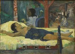 Paul Gauguin, Te Tamari no Atua (the birth of Christ) (date not listed), post impressionism