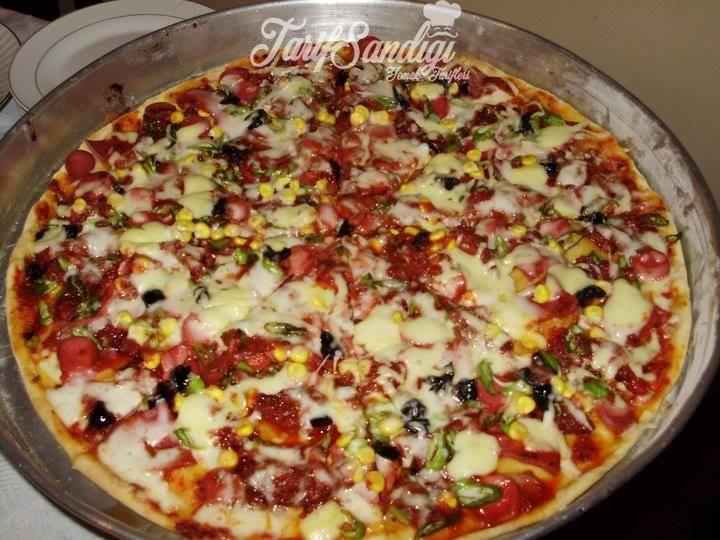 Karışık Mısırlı Pizza Tarifi