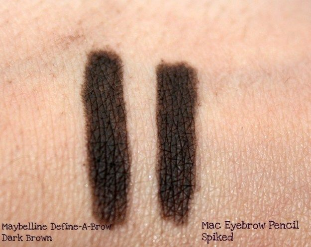 Dupe for MAC's Eyebrow Pencil in the shade Spiked