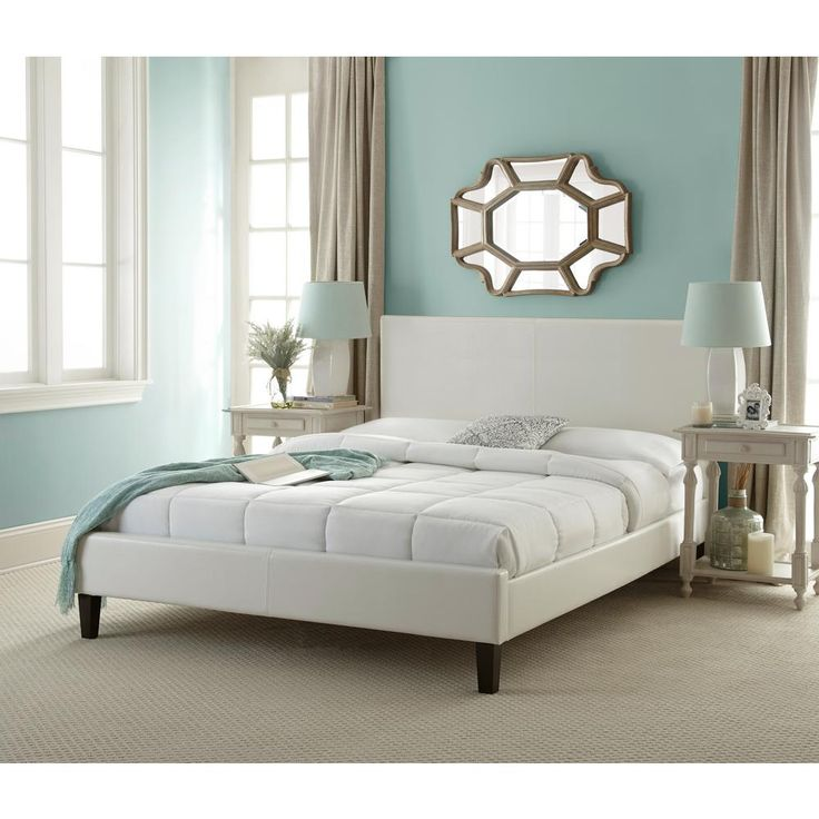best 25 white queen bed frame ideas on pinterest ikea beds for kids ikea storage bed and farmhouse bed frames - White Full Bed Frame