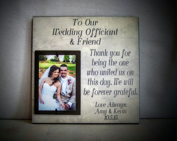 Wedding Ceremony Gift: 17 Best Ideas About Wedding Officiant On Pinterest