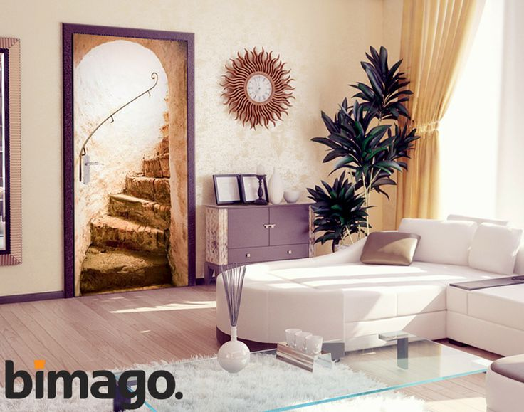 Fototapety nie muszą zdobić tylko ścian - świetnie sprawdzają się także jako dekoracja na drzwi! Zobacz, jak możesz odświeżyć swoje wnętrze z wysokiej klasy tapetami na drzwi od bimago