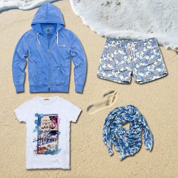 First day at the sea! #40weft #ss2014 #menfashion #sea #seaside #surf