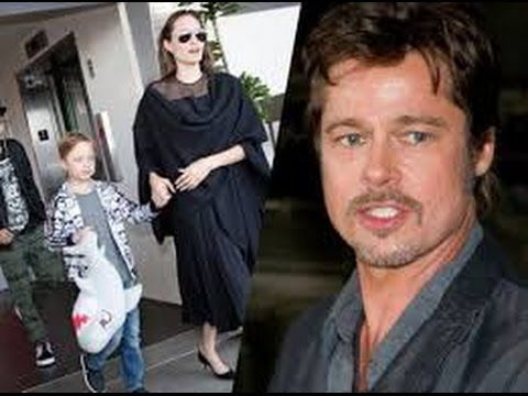 Brad Pitt , Angelina  Jolie Exposed  Private Details Of  Custody Battle