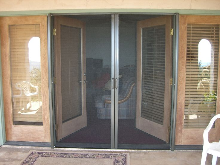 53 best images about doors on pinterest exterior doors for Screen doors for french doors exterior